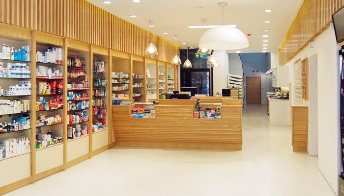 riqualificazione farmacia