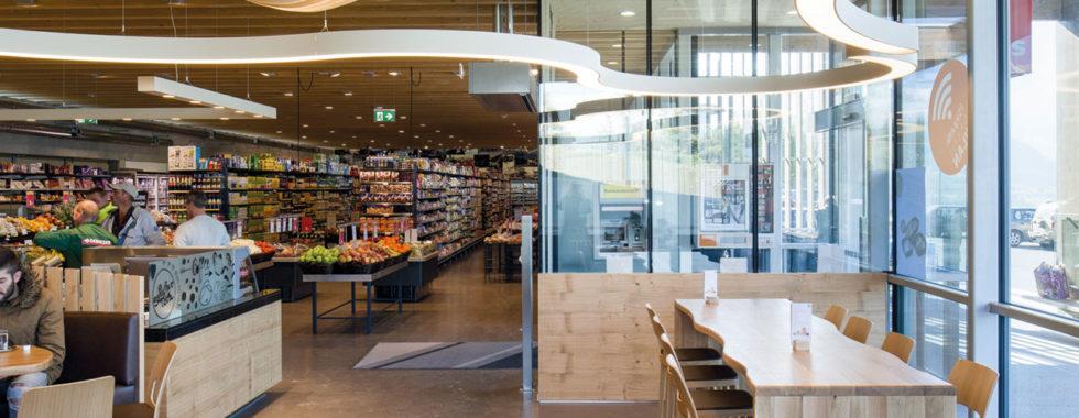 l'interno del supermercato